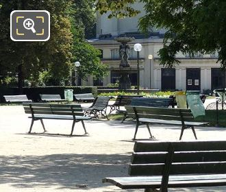 Park Benches in Jardins des Champs Elysees