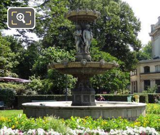 Fontaine de Cirque in Jardins des Champs Elysees
