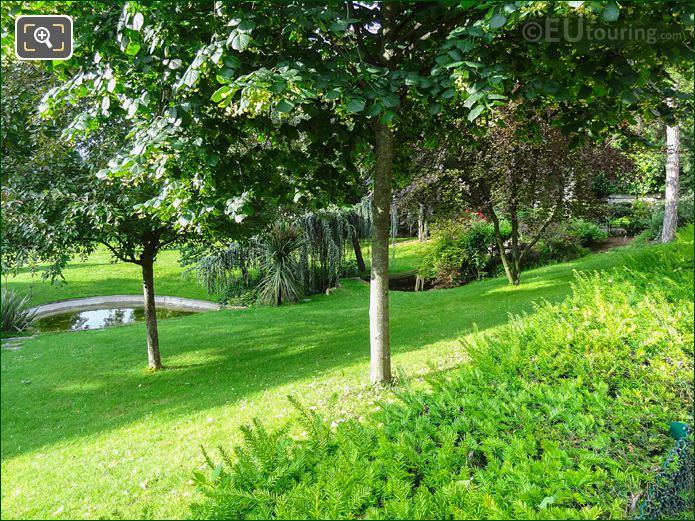 Ponds Within Jardins Du Trocadero Looking South