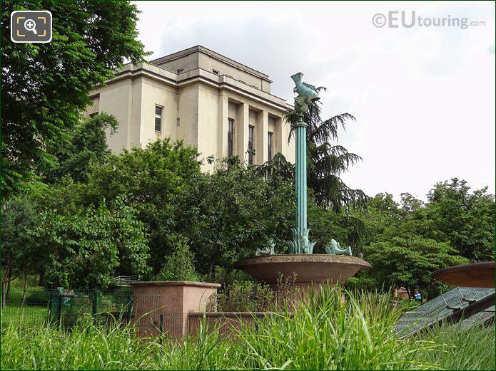 CineAqua Pole Showing Location Inside Jardins Du Trocadero