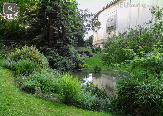 Flowering Shrubs On North West Side Of Jardins Du Trocadero