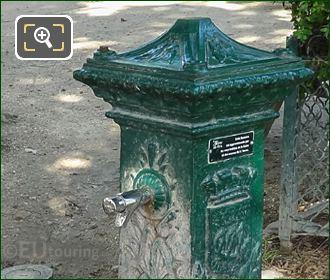 Public Drinking Water Inside Jardins Du Trocadero