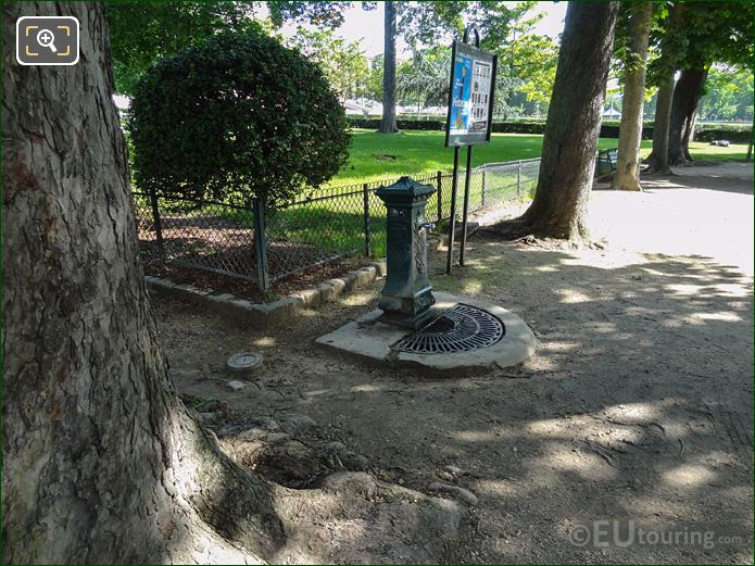 Jardins Du Trocadero Wallace Fountain Supplying Drinking Water