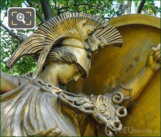 Jardins Du Trocadero Statue The Triumphal Dance