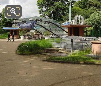 Walkway Leading To Aquarium De Paris Entrance