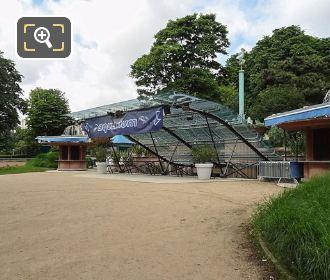 Trocadero's Aquarium Entrance And Glass Canopy