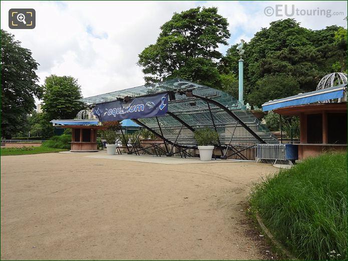 Aquarium De Paris Inside Jardins Du Trocadero