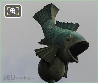 Aquarium De Paris Fish Emblem
