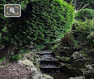 Small Evergreen Trees Inside Jardins Du Trocadero