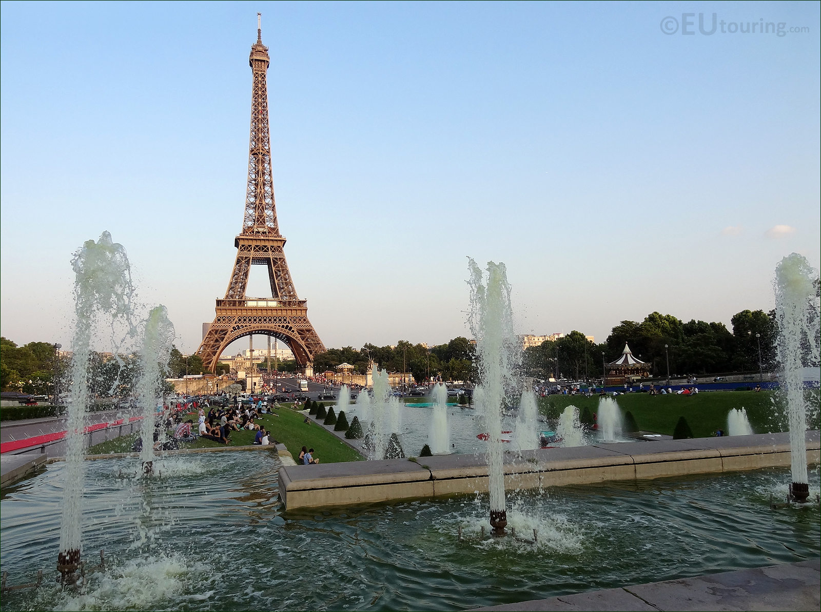 Photo images of jardins du trocadero gardens in paris for Jardin jardin paris