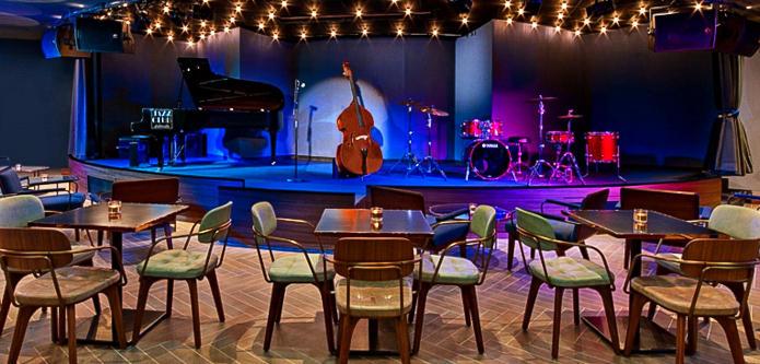Jazz Club Etoile Music Stage