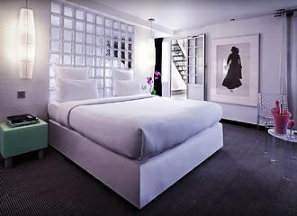 Kube Hotel Paris Bedroom