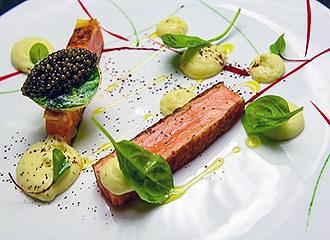 L'Atelier de Joel Robuchon caviar