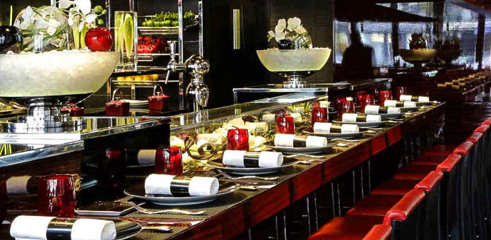 L'Atelier de Joel Robuchon seating