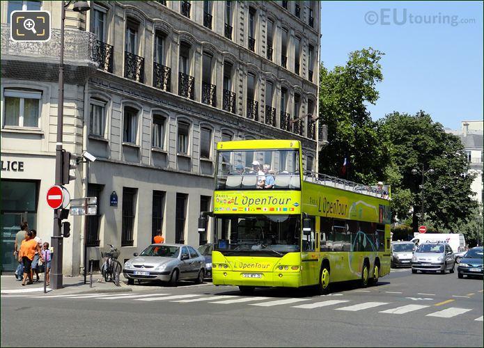 Photo Of L'OpenTour Tour Bus In Paris