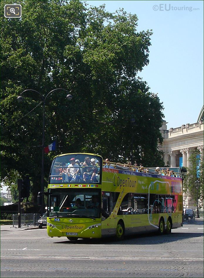 Photo Of L'OpenTour Tour Bus In Paris