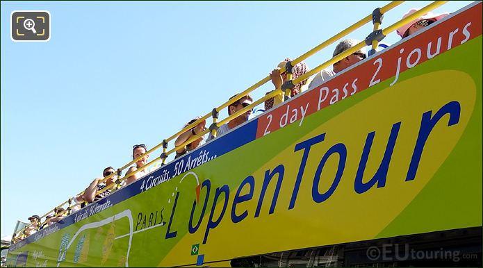 L'OpenTour Bus Logo