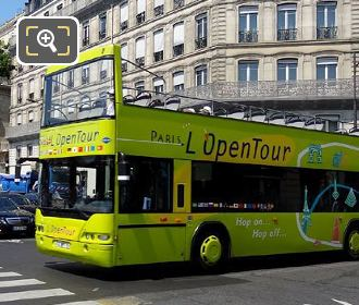 L'OpenTour Bus In Paris