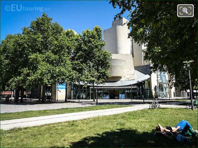 La Cinematheque Francaise And Surrounding Trees