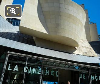 La Cinematheque Francaise Entrance