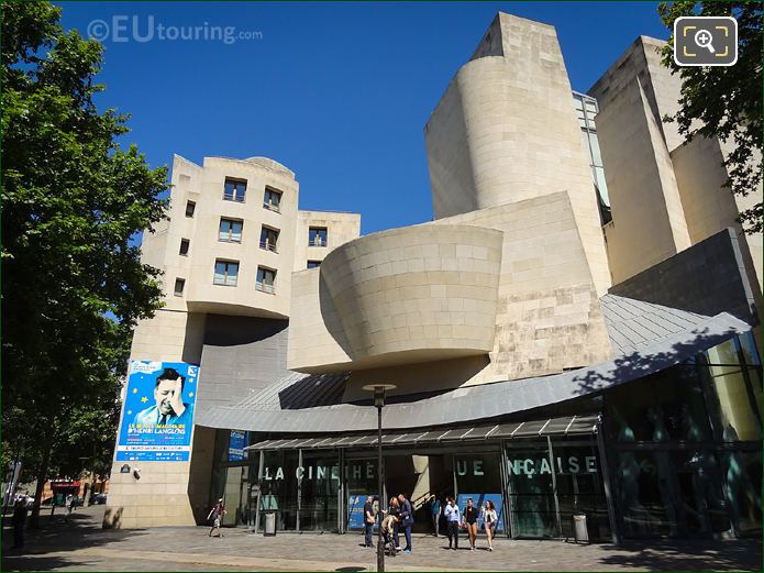 Cinematheque Francaise Estern Facade