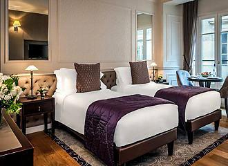 La Clef Louvre Paris Bedroom