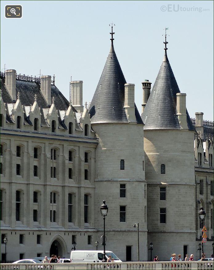 La Conciergerie Round Towers