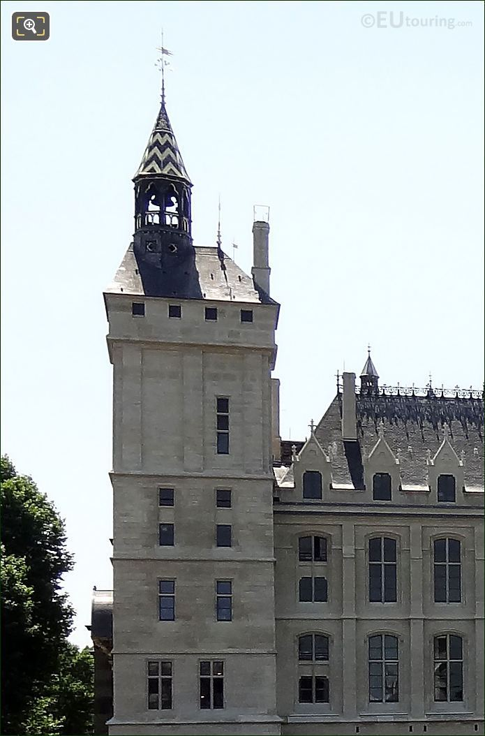 Clock Tower And Belfry At La Conciergerie