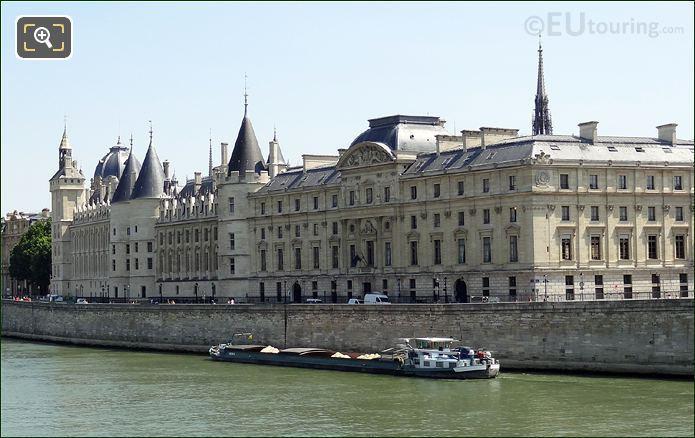 La Conciergerie And Palais De Justice Facade