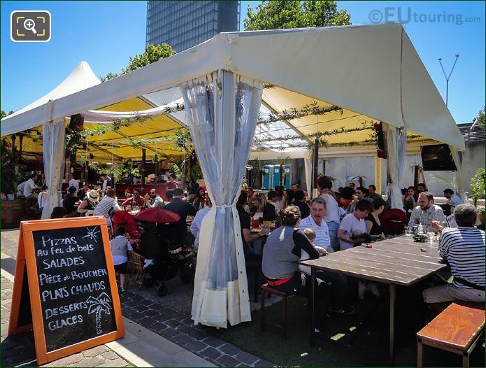 La Dame De Canton Covered Quayside Restaurant