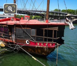 La Dame de Canton Bow Starboard Sides