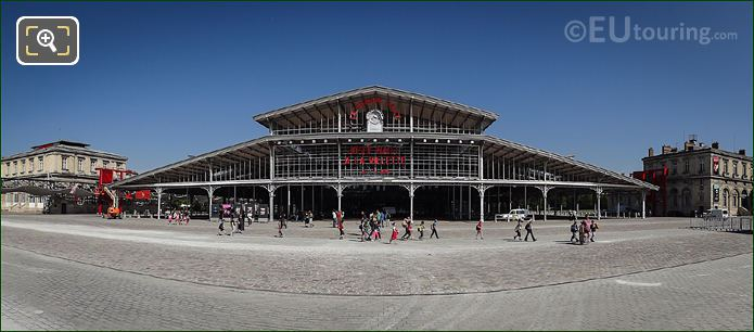 Panoramic Photo La Grande Halle