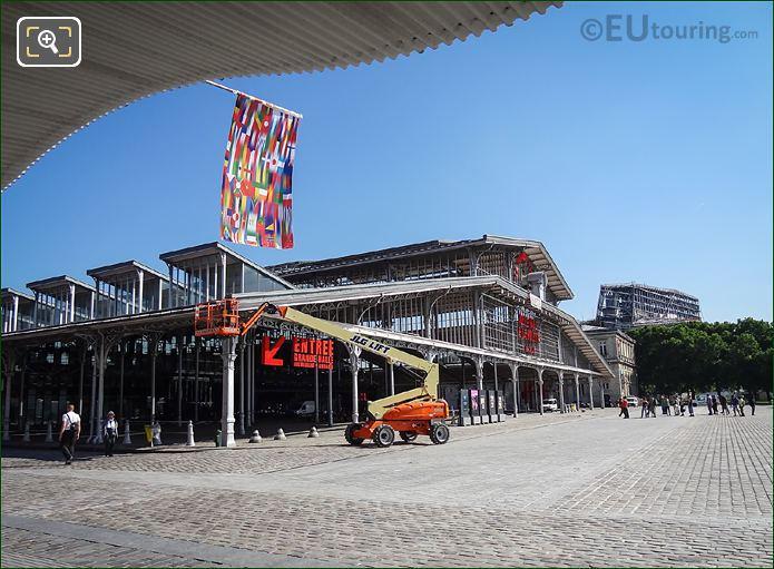 Front Facade Grande Halle