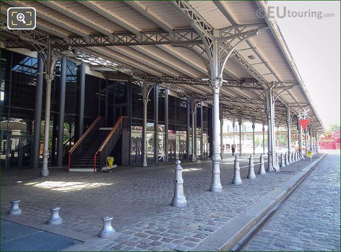 La Grande Halle Stone Cobbled Walkways