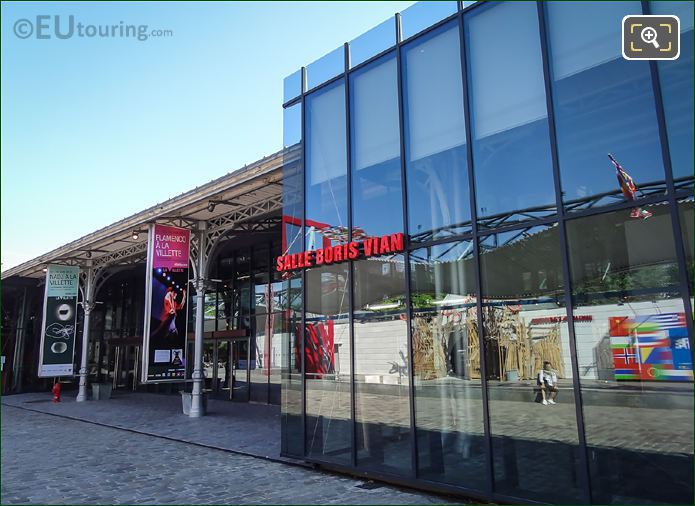 Salle Boris Vian La Grande Halle