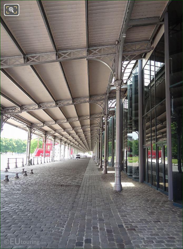 La Grande Halle Cobbled Walkway