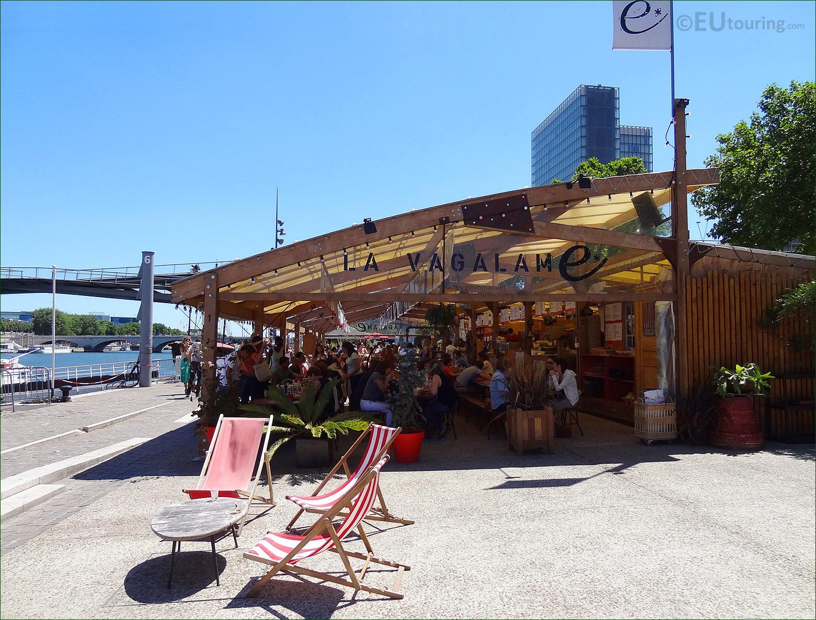 Hd photographs of la vagalame restaurant in paris france - Restaurant seine port ...