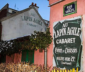 Lapin Agile Map