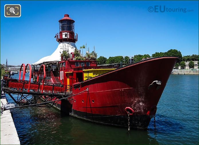 Le Batofar Lighthouse Boat