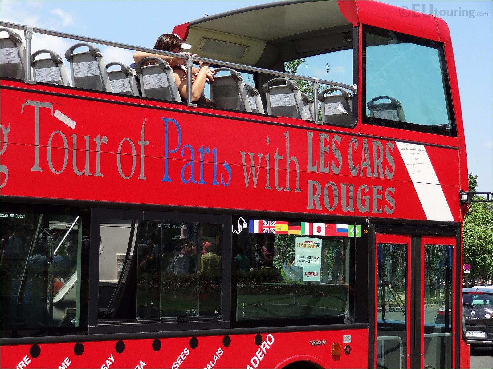 tour bus paris