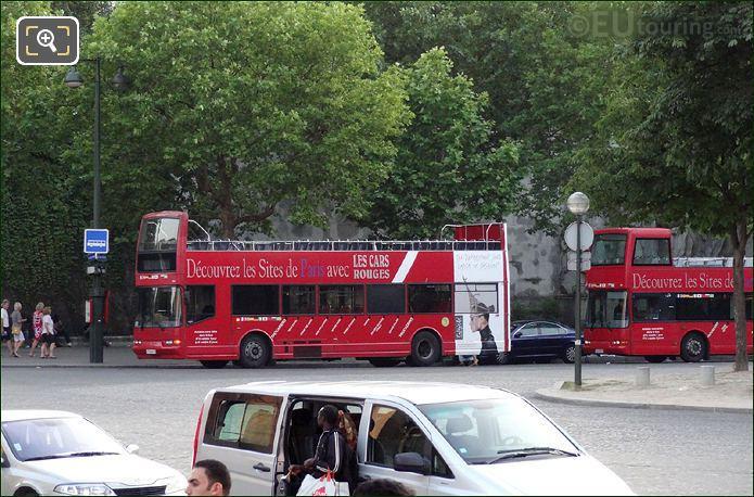 Car Rouges Open Top Tour Buses