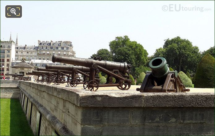 Cannons At Hotel Les Invalides