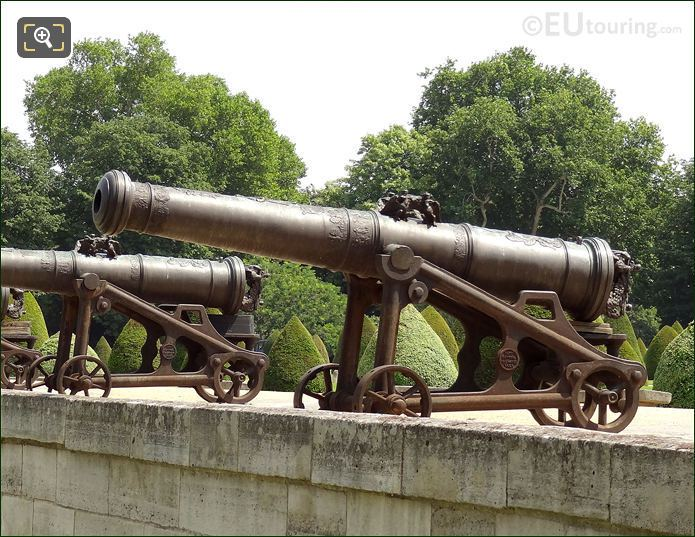 Cannon At Les Invalides