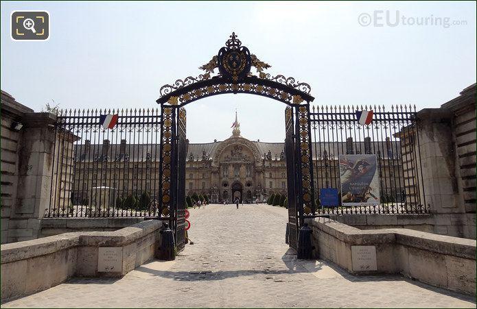 Hotel Les Invalides Gilded Gates