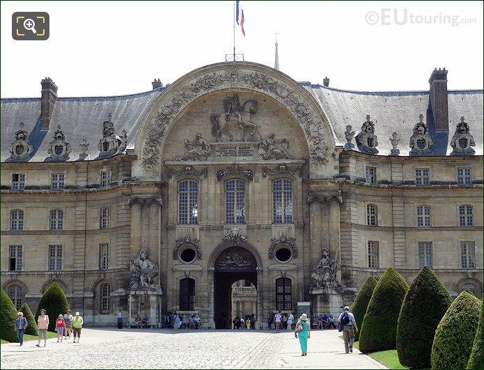 Hotel Les Invalides Main Entrance