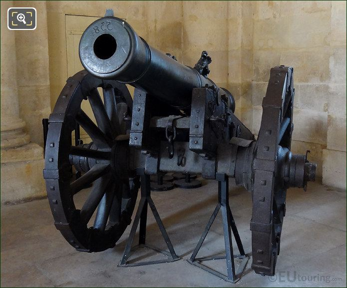 French Army Cannon At Les Invalides