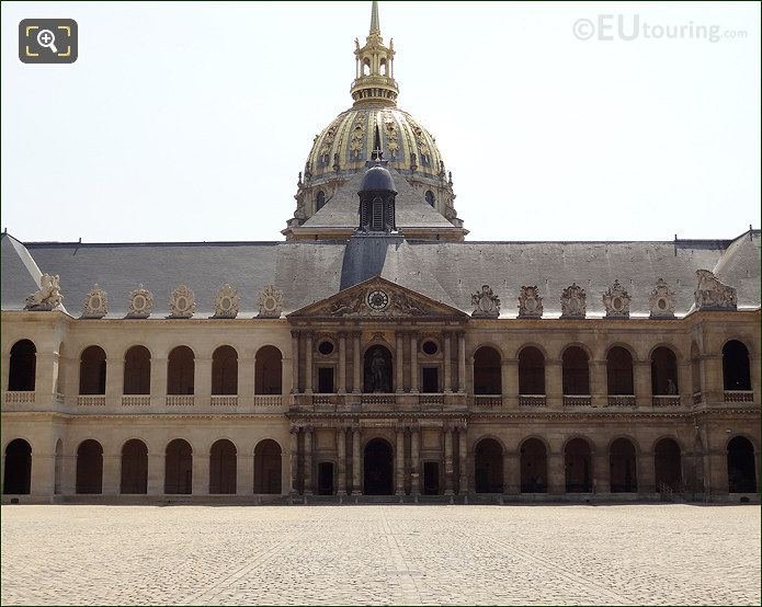 Les Invalides Courtyard South Wing