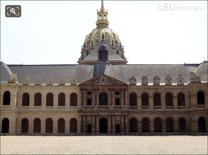 The Court Of Honour And Eglise Du Dome