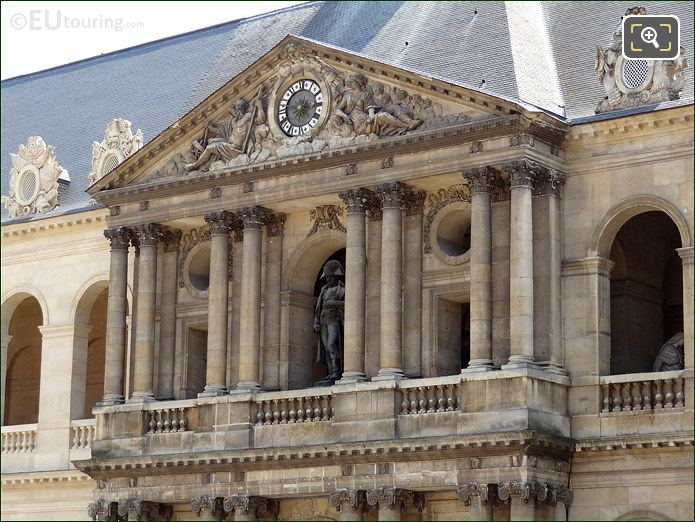 South Balcony At Les Invalides