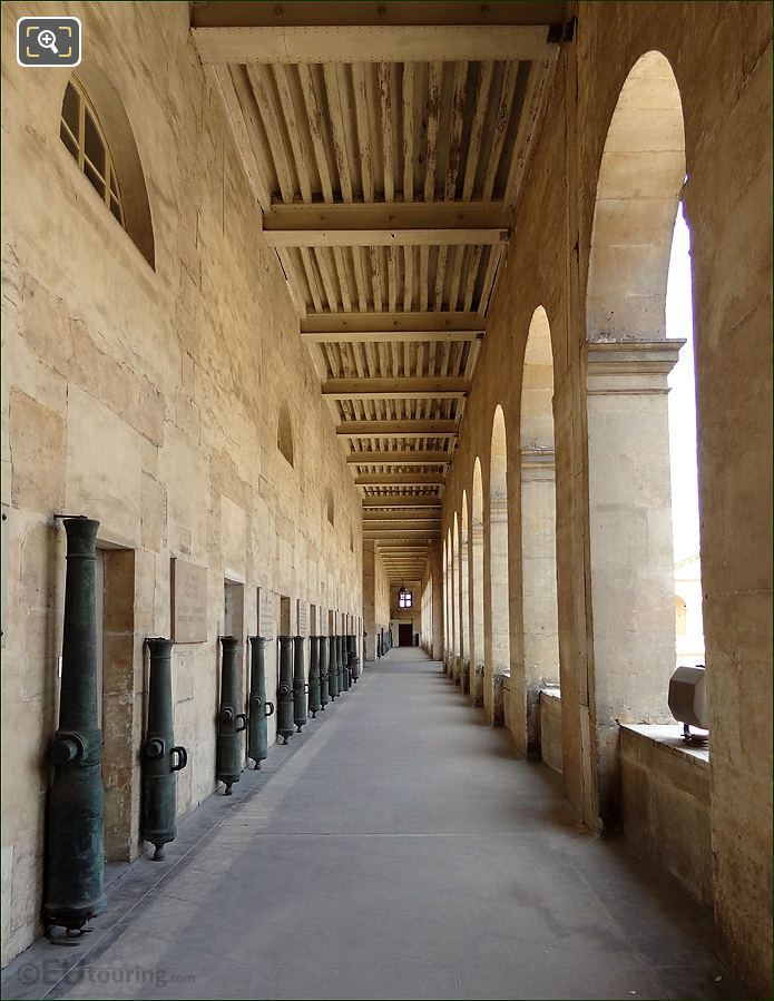 Les Invalides Eastern Upper Gallery